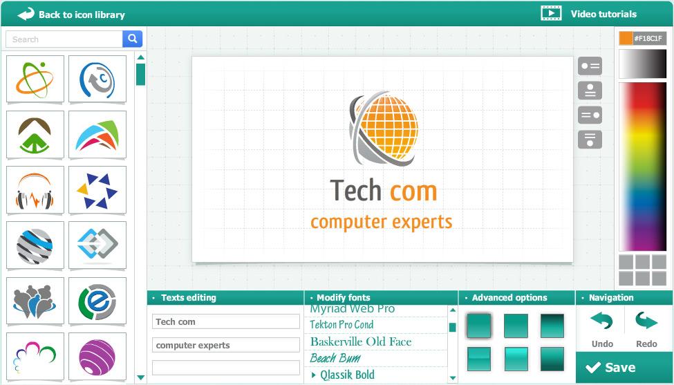 Company logo design maker