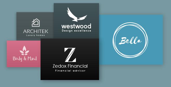 Experimente o nosso criador de logotipos e crie um logotipo